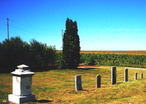 Burns Cemetery After