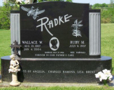 Personalized Family Monument