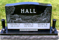 Hall Monument