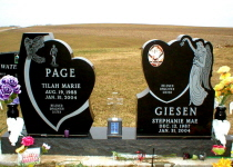 Giesen-Page Fr. with Vases & Solar Cross ( Jet Black )